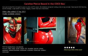 House of Gord: Caroline Pierce Bound in the COCO Box (2 Clip)