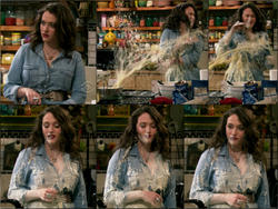 Kat Dennings - 2 Broke Girls S1e6/e10..