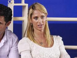 Ines Sainz - upskirt @ Acapulco Tennis Match