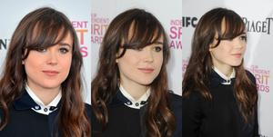 Ellen Page-2013 Independent Spiritt Awards Collage