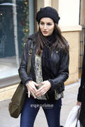 Camilla Belle - Christmas Shopping at The Grove December 19th