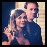 Rashida Jones - TwitPic Backstage on &amp;quot;Conan&amp;quot; - Oct 1, 2012