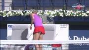 Maria Kirilenko - WTA Dubai 2012 Rnd1 - HD Vid